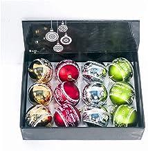 12-Piece Set Christmas Ball Set Matte Christmas Ornament Christmas Ball Pendant Christmas Tree Pendant