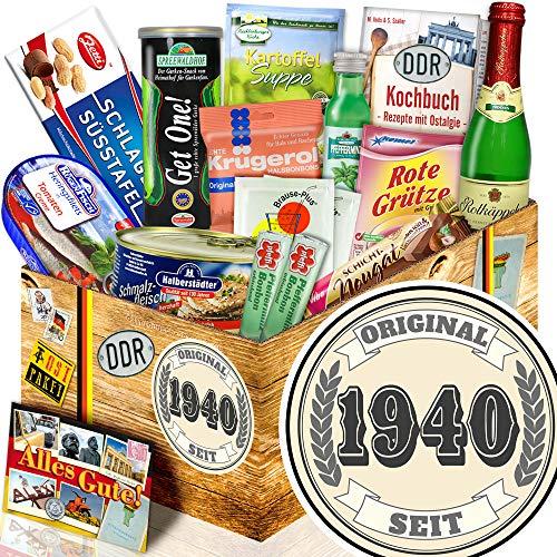 Original seit 1940 ++ Spezialitäten Ostpaket ++ Geschenke 80. Geburtstag