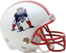 Riddell New England Patriots Mini Replica Throwback Helmet