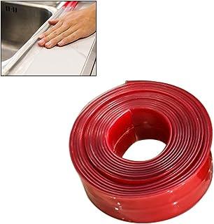 Yissma Cinta Adhesiva, Waterproof Moho fuertemente autoadhesiva Transparente Tira de Sellado baño autoadhesiva Pared de la Piscina Agua Cinta de Sellado para Cocina baño Fregadero