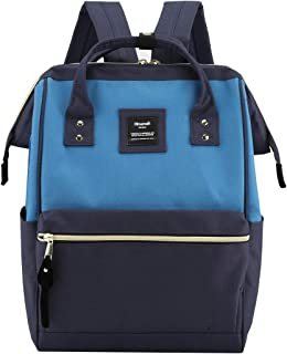 Himawari Travel School Backpack with USB Charging Port 15.6 Inch Doctor Work Bag for Women&Men College Students(900D-USB-HNPZQ)