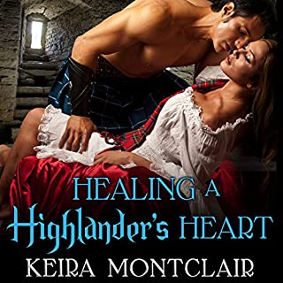 Healing a Highlander's Heart audiobook cover art
