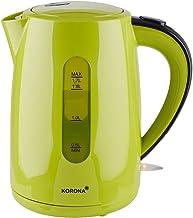 Korona 20133 Waterkoker   1,7 Liter Inhoud   Groen   Krachtige Koffiekoker   Met 360° Basisstation