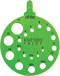 Knitter's Pride Round Needle Gauge, Envy