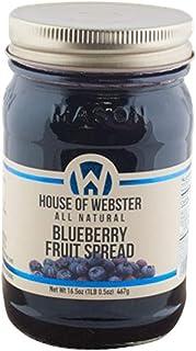 House of Webster Blueberry Fruit Spread - 16.5 oz