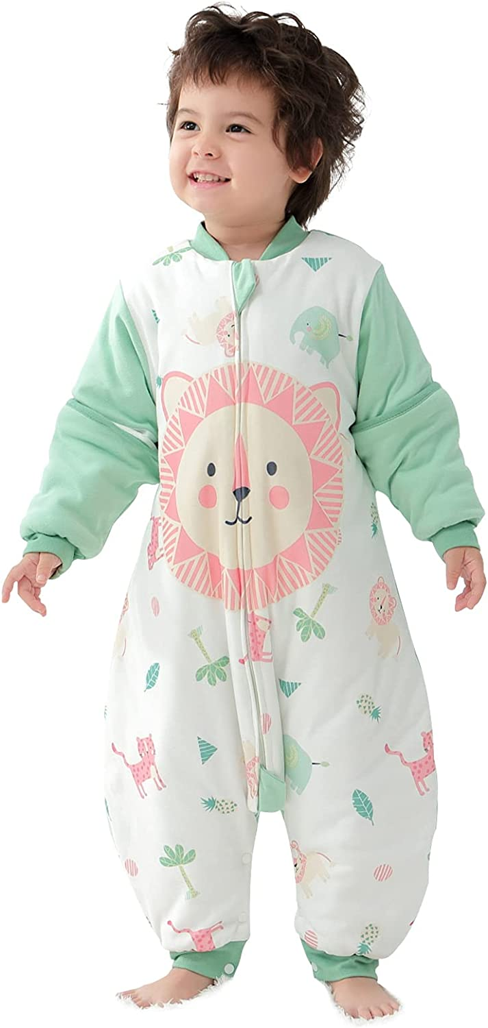 Happy Cherry Baby Outlet SALE Wearable Blanket Denver Mall 100% Slee Cartoon Cotton Soft