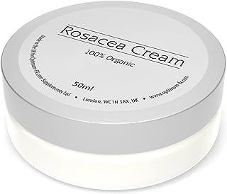 Crema Para Rosácea Hecho Con Ingredientes Naturales y Orgánicos Trata El Enrojecimiento Alivia La Picazón y La Piel Inflam...