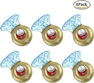 Skyoo Soporte Hinchable para Bebidas, Diseño de Diamantes, 6 ...