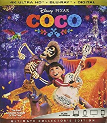 COCO on 4K Ultra HD, Blu-ray, DVD, and Digital HD from Disney-Pixar