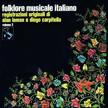 Folklore musicale italiano, Vol. 2 (Registrazioni originali di alan lomax e diego carpitella)