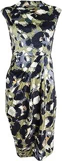 Women's Arlene Embossed Velvet Sheath Dress