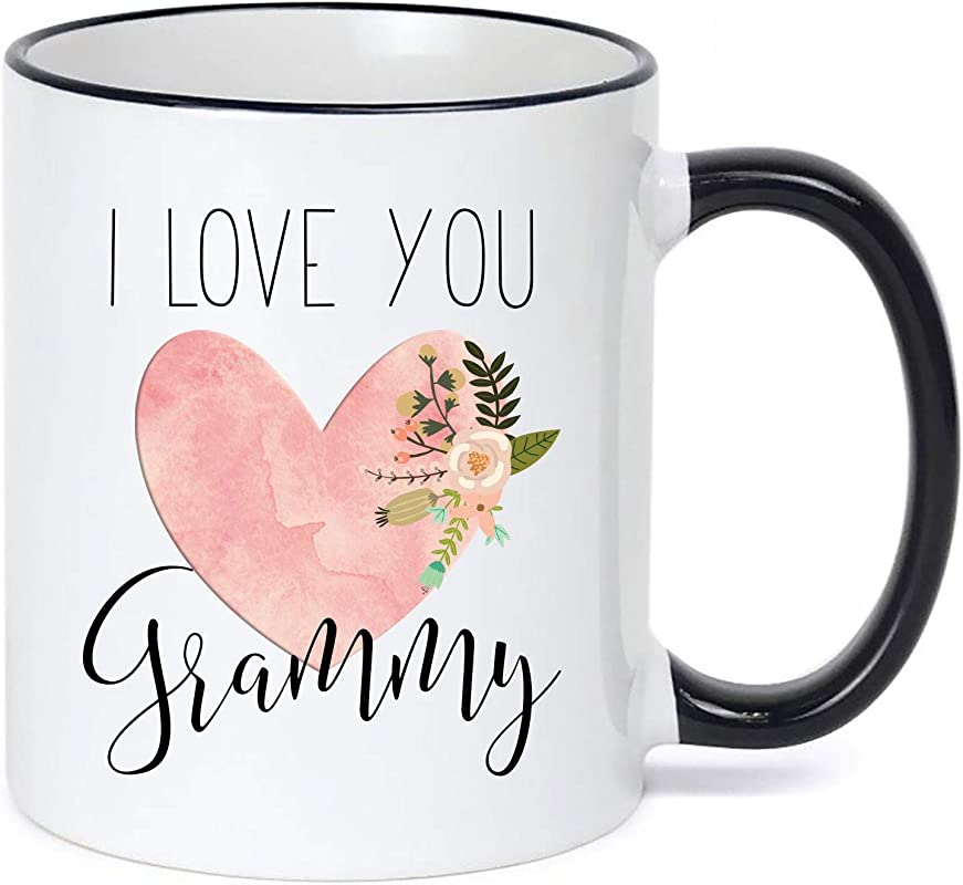 Grammy Mug Mother S Day Grammy Heart Coffee Cup Cute Gift