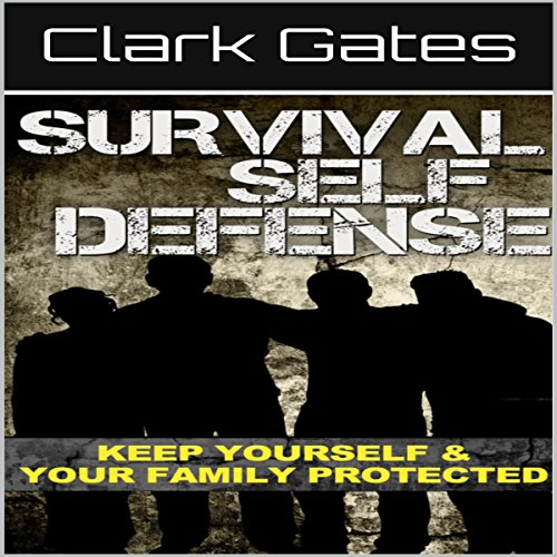 Survival Self Defense audiobook cover art