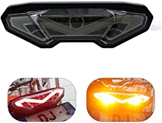 MZS Tail Light LED Turn Signal Blinker Integrated compatible Yamaha FZ09 FZ-09 MT-09 2014-2016/ FJ-09 FJ09 MT09 Tracer/FZ-10 FZ10 MT-10 MT10 Smoke