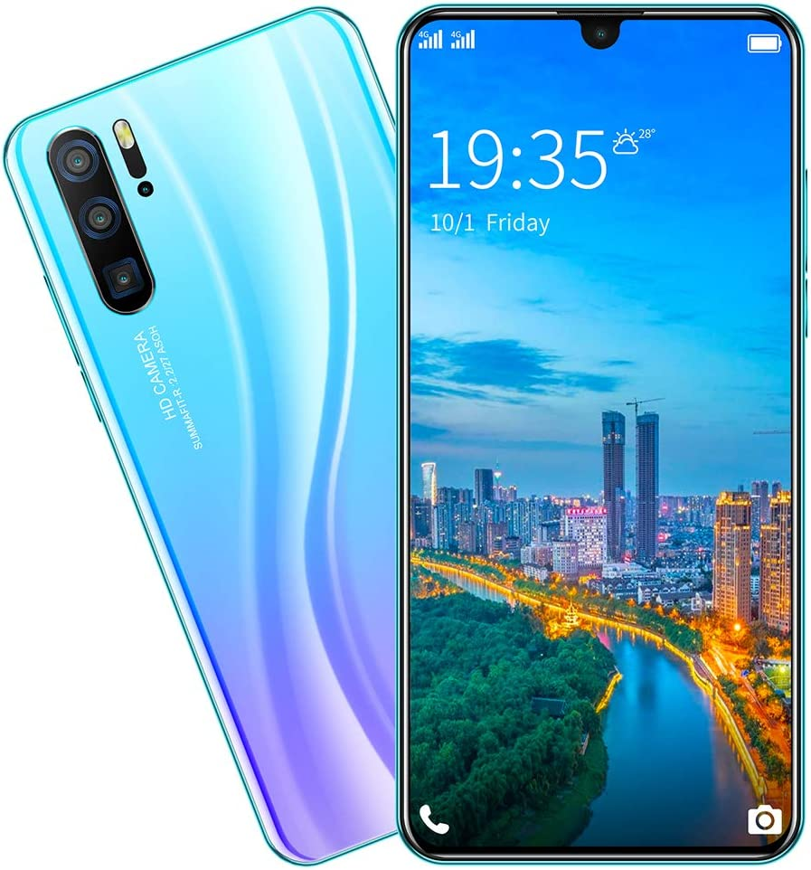 Smartphone Unlocked Cell Phones 6.3inch Android Pro Very popular Low price P36 8+128GB