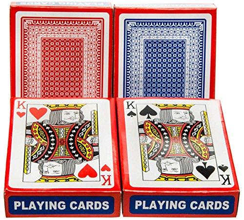 Diverse 10 x Karten Kartenspiel Spielkarte 54 Blatt Mau Mau Doppelkopf Schafkopf Schwimmen Poker