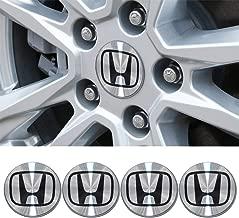 Wall Stickz 4pcs Set 69mm Center Cap Hub Wheel Caps for Civic/Accord/CRV/Odyssey (fit Honda 69MM)