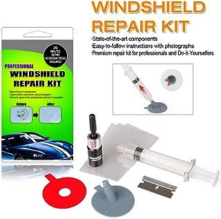 ARISD Car Windshield Repair Kit – Windshield & Glass Repair Tool Set for Half-Moon Cracks or The Combination Cracks