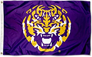 College Flags and Banners Co. Louisiana State LSU Tigers Tiger Head Flag