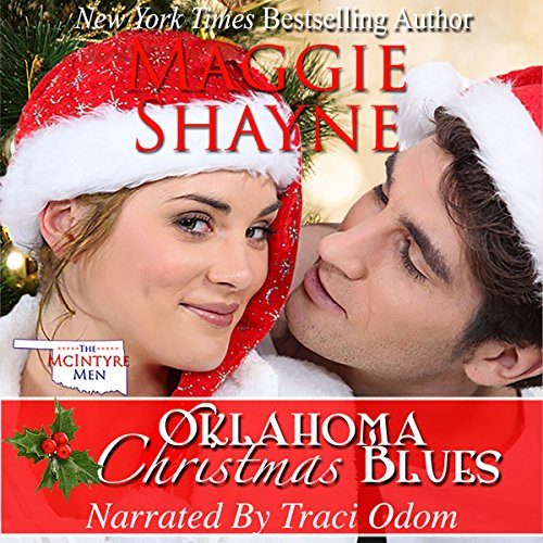 Oklahoma Christmas Blues, Book 1 of the McIntyre Men Series audiobook cover art