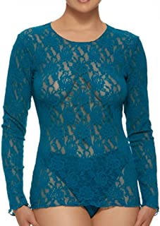 Women's Signature Lace Unlined Long Sleeve Top