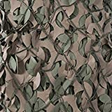 CamoSystems Premium Series Camouflage Military Net with Mesh Netting Attached, Large, 9'10' x 19'8', Original Camo - Green/Brown