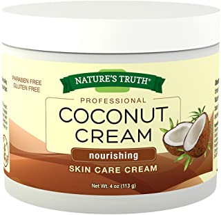 Natures Truth Natures Truth Professional Coconut Cream Nourishing Skin Care Cream, 4 Ounce