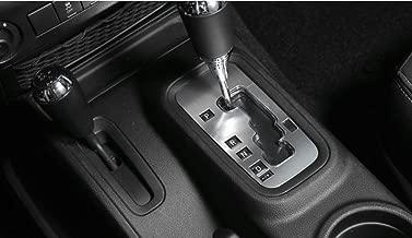 E-cowlboy Aluminum Inner Accessories Trim Gear Frame Cover for Jeep Wrangler 2012 2013 2014 2015 2016 2017 (Silver)