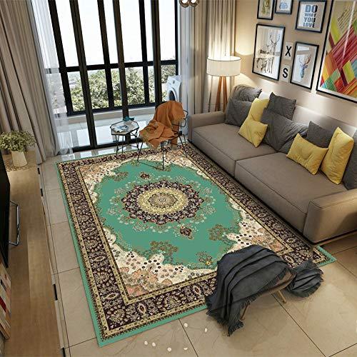 SN HUIPENG Big Carpets Persian Vintage Carpet for Living Room Bedroom Mat Non-Slip Area Rugs Boho Morocco Ethnic Retro Carpet 160x230cm