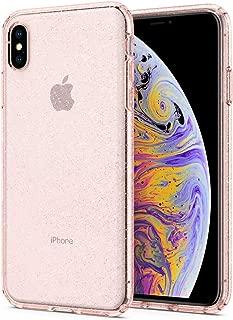 Spigen Liquid Crystal Designed for iPhone Xs MAX Case (2018) - Glitter Rose Quartz