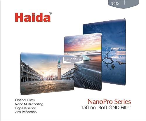 ND 0.3//0.6//0.9, 100x150mm Formatt Hitech HT150GKit5 Grauverlaufsfilterset mit 3 hartem Verlauf Filtern
