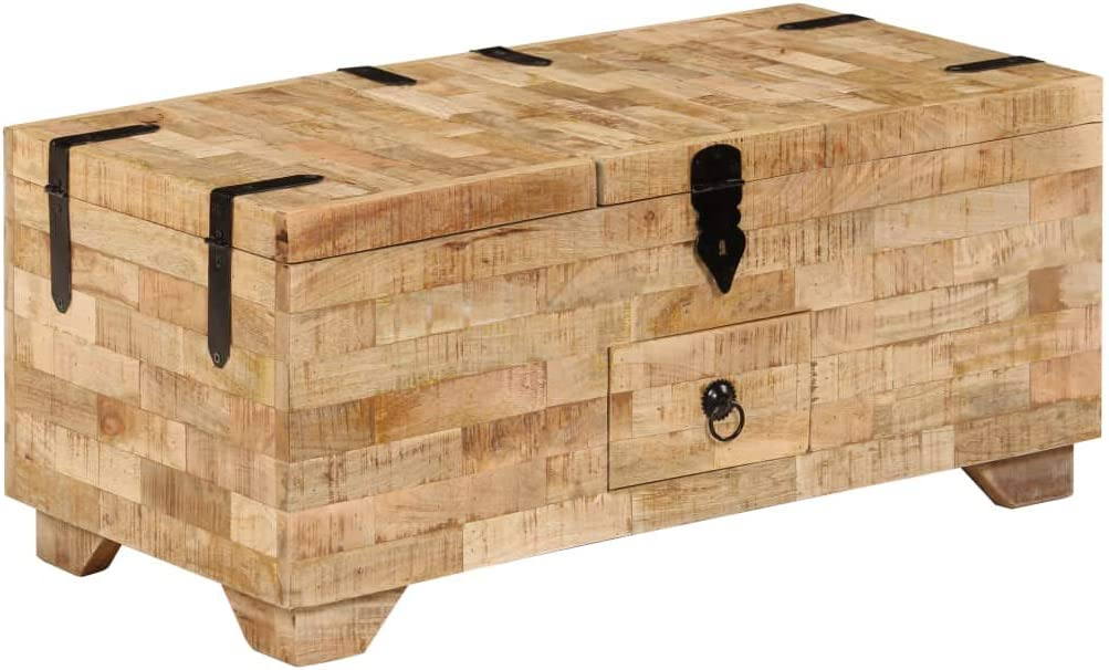 Mail order cheap Coffee Table Solid lowest price Mango Wood 31.5
