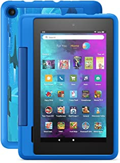 """Introducing Fire 7 Kids Pro tablet, 7"""" display, ages 6+, 16 GB, Intergalactic"""