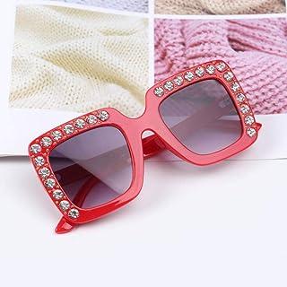 Powzz ornament - Gafas de sol de gran tamaño bonitas para niños de 2021 Gafas cuadradas para niños Gafas de sol de colores de moda para bebés Gafas de sol para niños y niñas-3_China