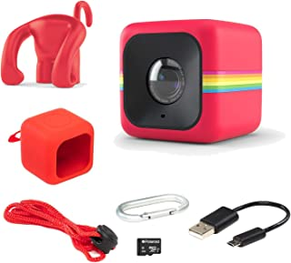 Polaroid Cube Act II - HD 1080p Mountable Weather-Resistant Lifestyle Action Video Camera 6MP Still Camera w/Image Stabilization Sound Recording Low Light Capability Other Updated Features