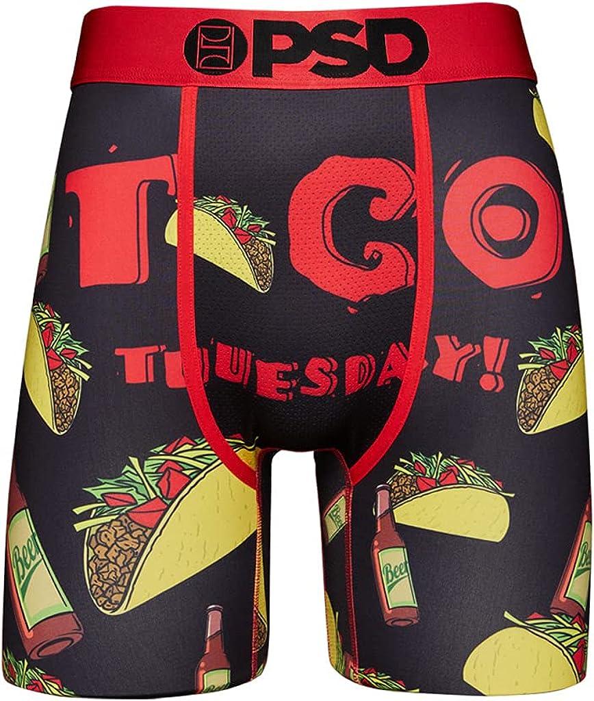 PSD Men's Brief (Black/Taco Tuuesday