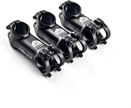 Glaray MTB Bicycle Stem 17 Degree Aluminum Alloy Mountain Bike Handlebar Stem,ø31.8mm, Black