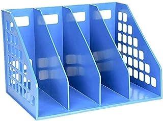 Armoires de bureau Boîte à Fichiers Magazine Plastique Fichier de séparation de Bureau Fournitures Gestionnaire de Stockag...