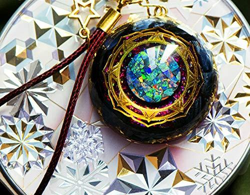 SEKDAQ Emf Protection Orgonite Energy Pendant,eye Of Storm Reiki Chakra Stones,amulet Necklace Chakra Balance Positive Energy,best Gifts For Man Woman
