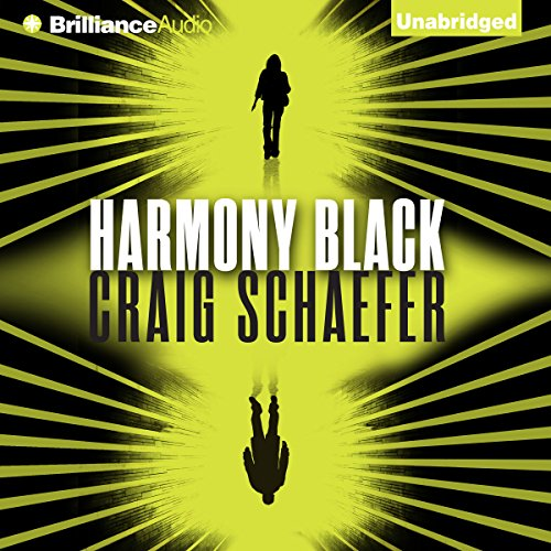 Harmony Black audiobook cover art
