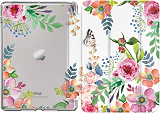 """MoKo Case Fit New iPad 8th Generation 10.2"""" 2020 / iPad 7th Gen 2019,iPad 10.2 Case with Stand, Soft TPU Translucent Frost..."""