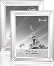 Meetart Standard Flat Mirror Photo Frame 8x10 Inch Pack Of 2 Piece, Table Frame And Wall Hang Frame For Home Decoration Up...
