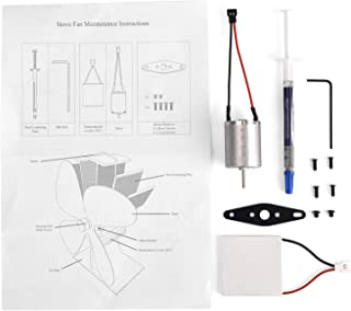 Stove Fan Replacement Kit-Replacement Motor and Replacement TEC for Wood Stove Fan