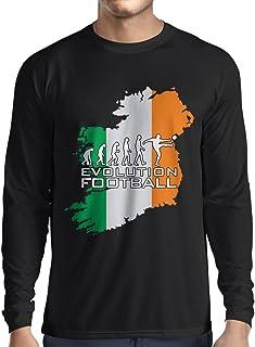 lepni.me Long Sleeve t Shirt Men Evolution Football - Ireland