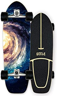 WRISCG Carver Skateboard Arce Tabla Completa 78×24...