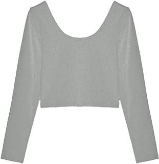 [コウエイストア]koeistore Tシャツ ショート丈 トップス カットソー 無地 インナーtシャツ レディース Y3005