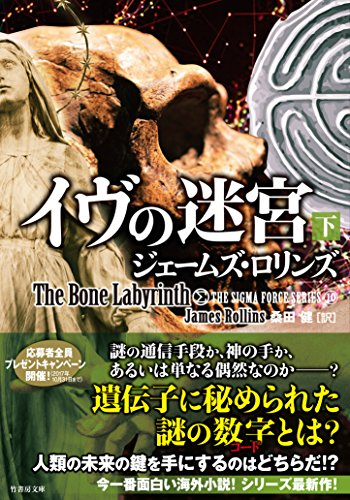 シグマフォース シリーズ10 イヴの迷宮 下 (竹書房文庫)の詳細を見る