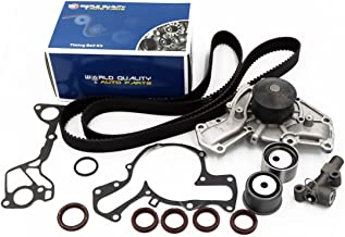 Timing Belt Water Pump Kit fits for 1991 1992 1993 1994 1995 1996 1997 1998 1999 Mitsubishi 3000GT, Diamante, 1991-1996 Dodge Stealth 3.0L V6 DOHC Eng.6G72