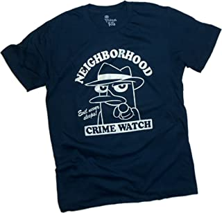 Disney Neighborhood Crime Watch - Agent P (Brillan En La Oscuridad) - Phineas & Ferb Camiseta