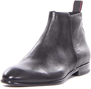 Hugo Boss Men Dressapp_Zipb_gr Boots Shoes